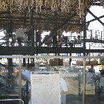 Comedor del hotel con vista a la playa