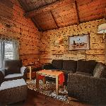Example living room in small cabin