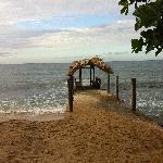 Towards the Beach