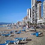 Beach a few minutes away