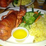 the wonderful lobster dinner
