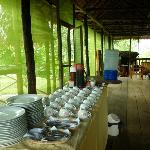 Restaurante en el Lodge