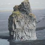 Monolithe, plage de Dyrholaey