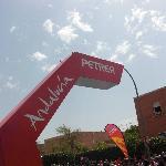 Petrel fue inicio de la 3ª etapa de la Vuelta a España en 2011