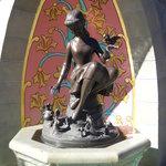 Cinderella fountain in Fantasyland