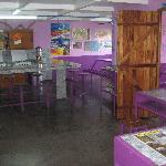 Kitchen and common area
