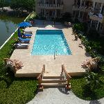 Great pool (view from balcony)
