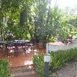 Outdoor patio