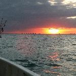 Sunset on a marathon Saturday