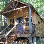 Our most private eco-cabin.