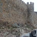 Walls of Avila just 50 meters from the hotel
