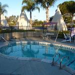 Wigwam Motel Pool, San Bernardino CA