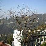 View of the Doon Valley from the room