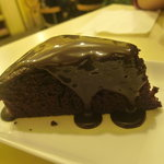 a real chocalate cake. very difficult to find this in the North region of China