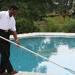 the pool boy does a good job