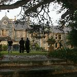 Abercrombie House from the side garden.  Just splendid.