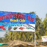 Anthonys first base