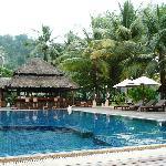 Pool und Bar