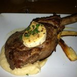 local veal chop