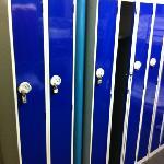 lockers in rooms