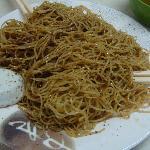 noodles in prawn powder