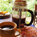 spicy Tanzanian fresh coffee