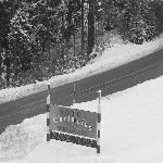 l'hotel sotto la neve