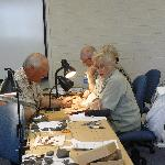Artifact Identification Project Team at Work