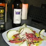 Oil, Wine, Food and bread, Heaven!
