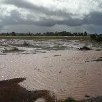 Land unter auf dem Weg nach Agadir nach 14 Stunden Dauerregen