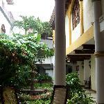 Common area, courtyard