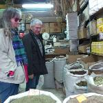 In a traditional, family-run spice shop with our guide, Nikitas Patiniotis