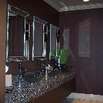Restrooms were very clean, just like everything else!