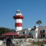 The Harbourtown lighthouse