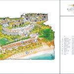 Map of the Grande Real Santa Eulália Resort & Hote