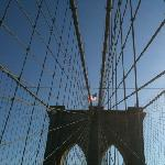 Brooklyn bridge cables.