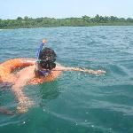 Snorkeling at the Andamans