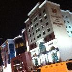 facade du Merweb Hotel