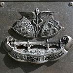 Bronze detail on the War Memorial
