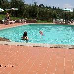 Villa stabia - ved poolen