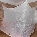 Holey mosquito net