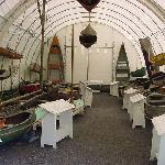 sailboats on display