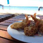 Good food at Koh Mak resort