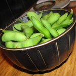 Edamame $4 during happy hour