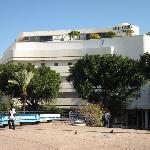 Cinema Hotel from Dizengoff Square