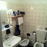 Bad eines Zimmers unterer Kategorie