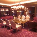 The lobby hall