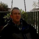 io in terrazza dopo il pranzo