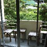 Balcony in Double Room