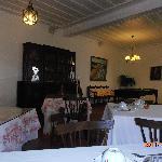 sala comum e pequeno almoço